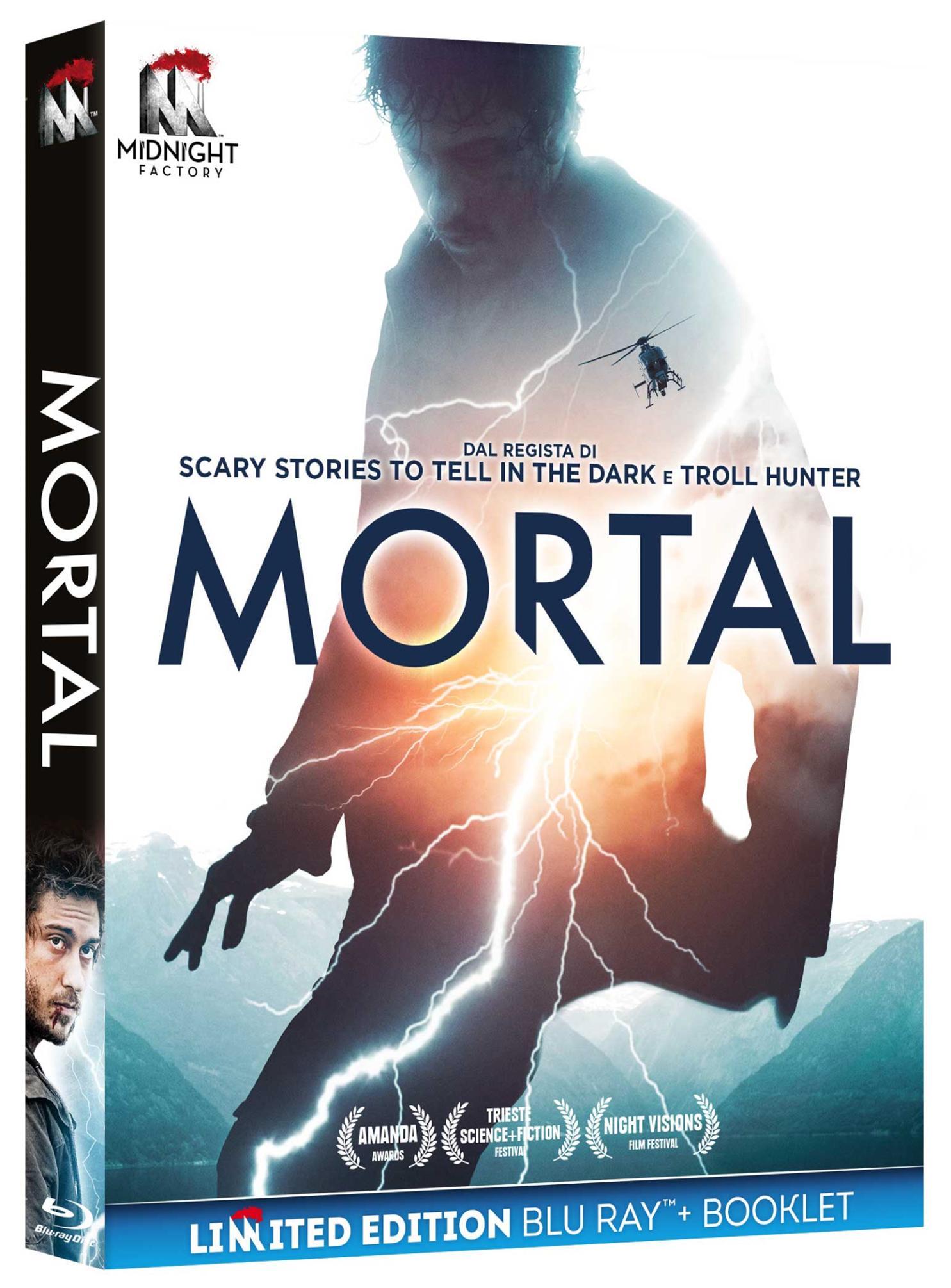 MORTAL (BLU-RAY+BOOKLET)