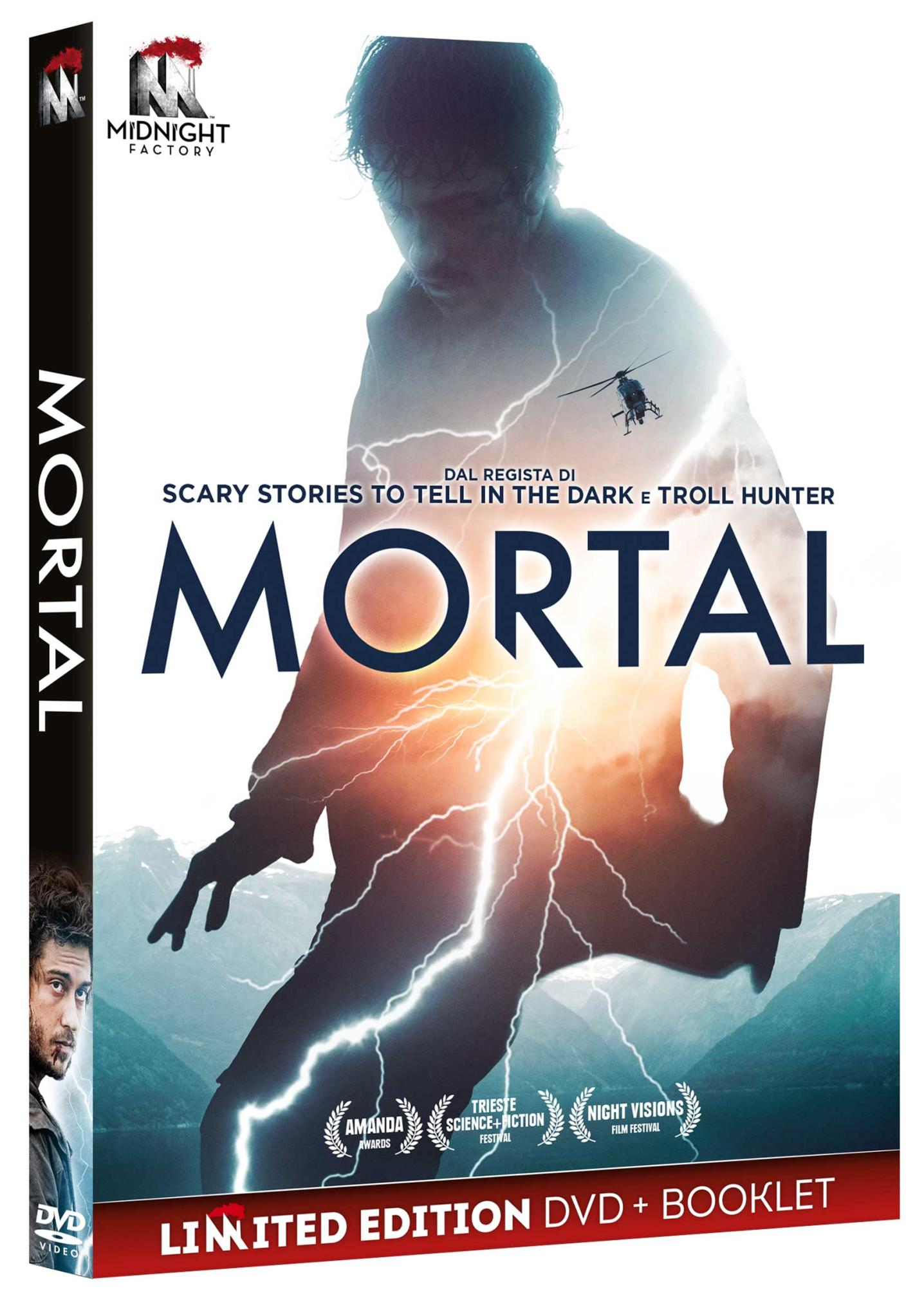 MORTAL (DVD+BOOKLET) (DVD)