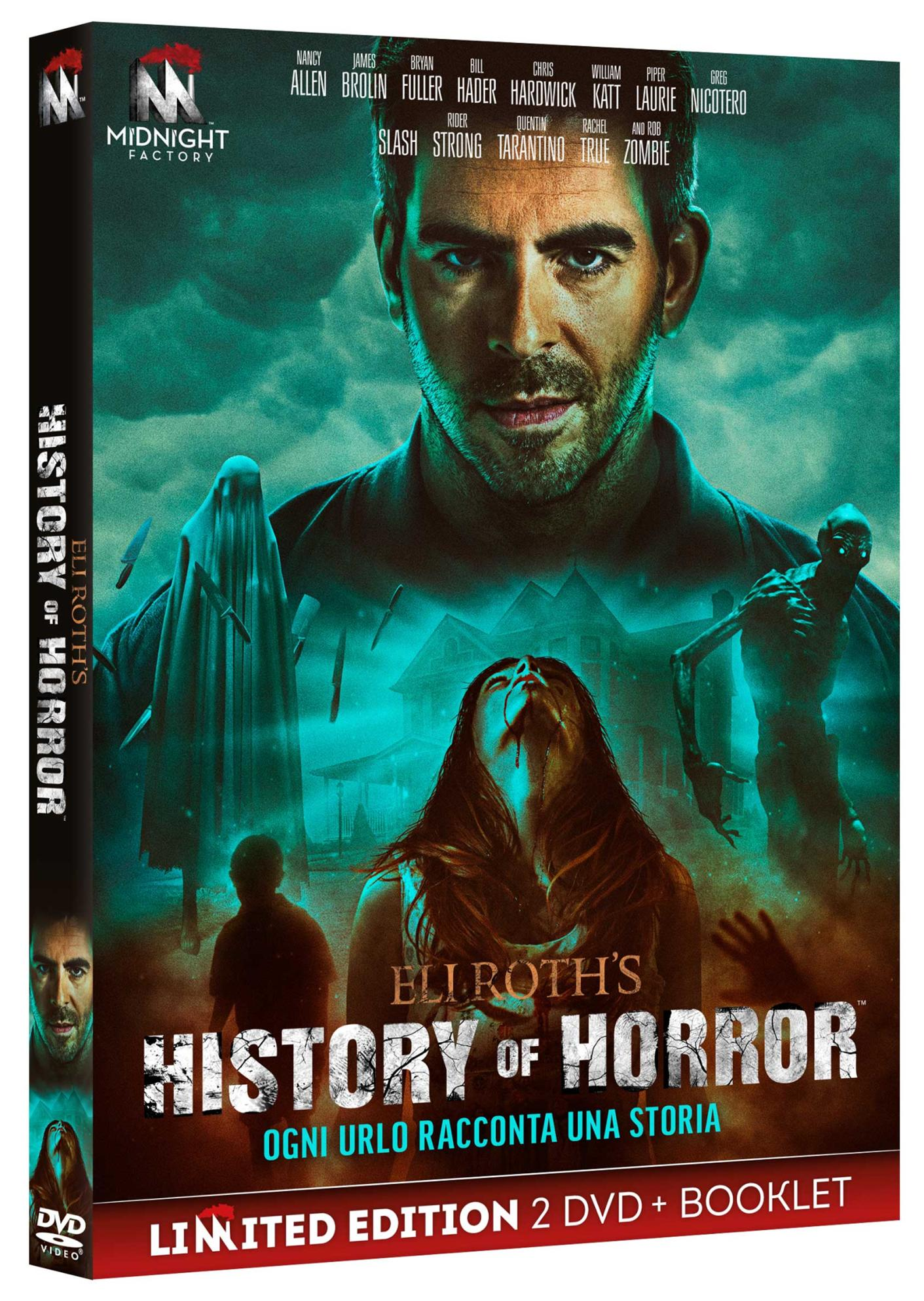 COF.ELI ROTH'S HISTORY OF HORROR - STAGIONE 02 (2 DVD+BOOKLET) (