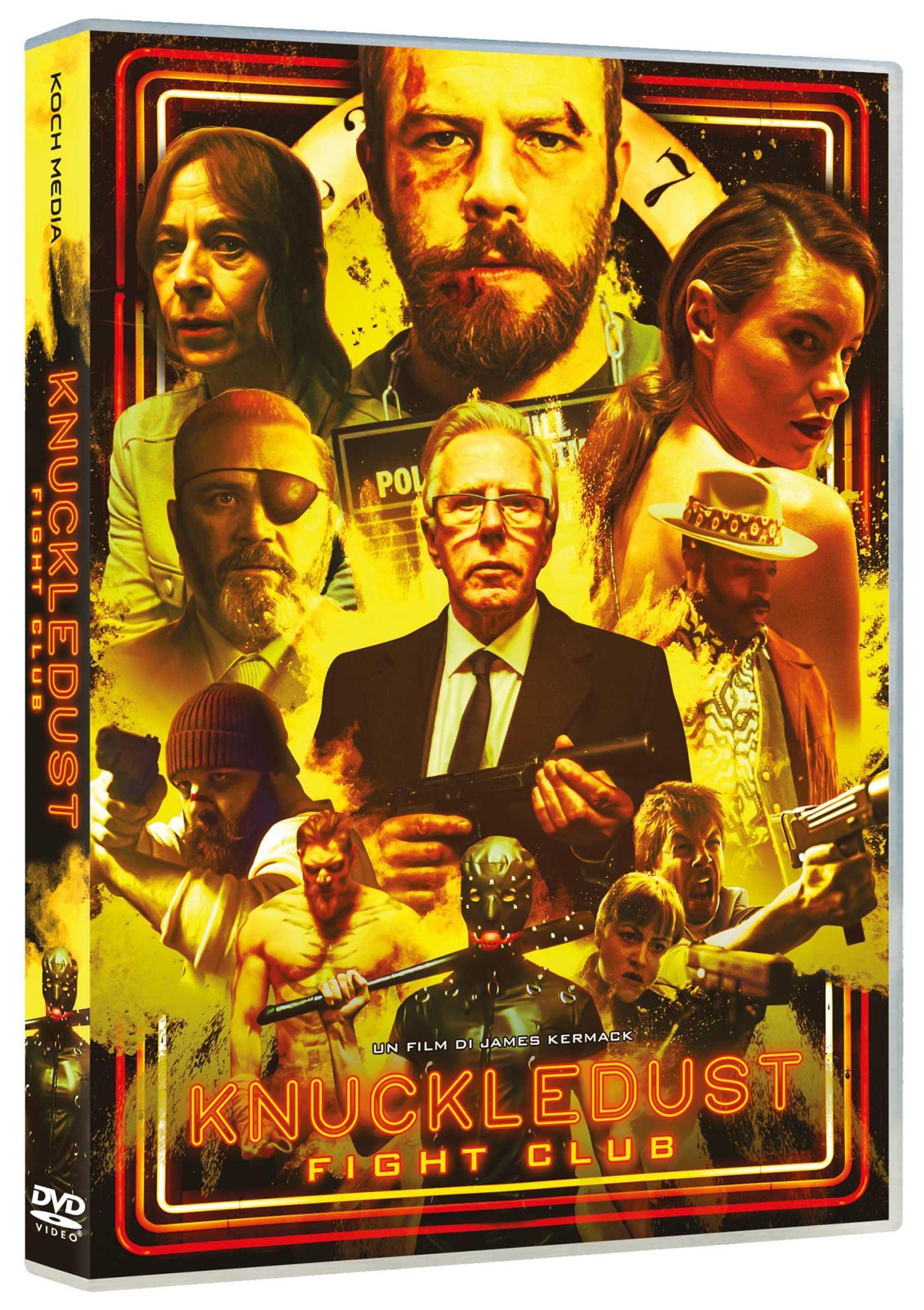 KNUCKLEDUST - FIGHT CLUB (DVD)