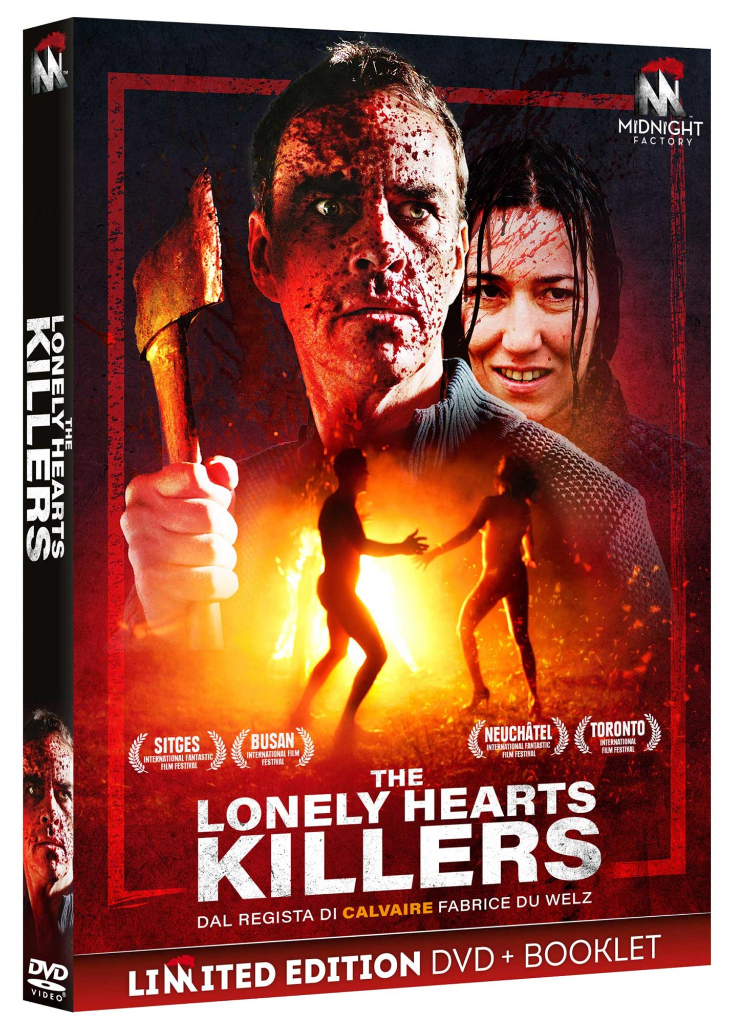 THE LONELY HEARTS KILLERS (DVD+BOOKLET) (DVD)