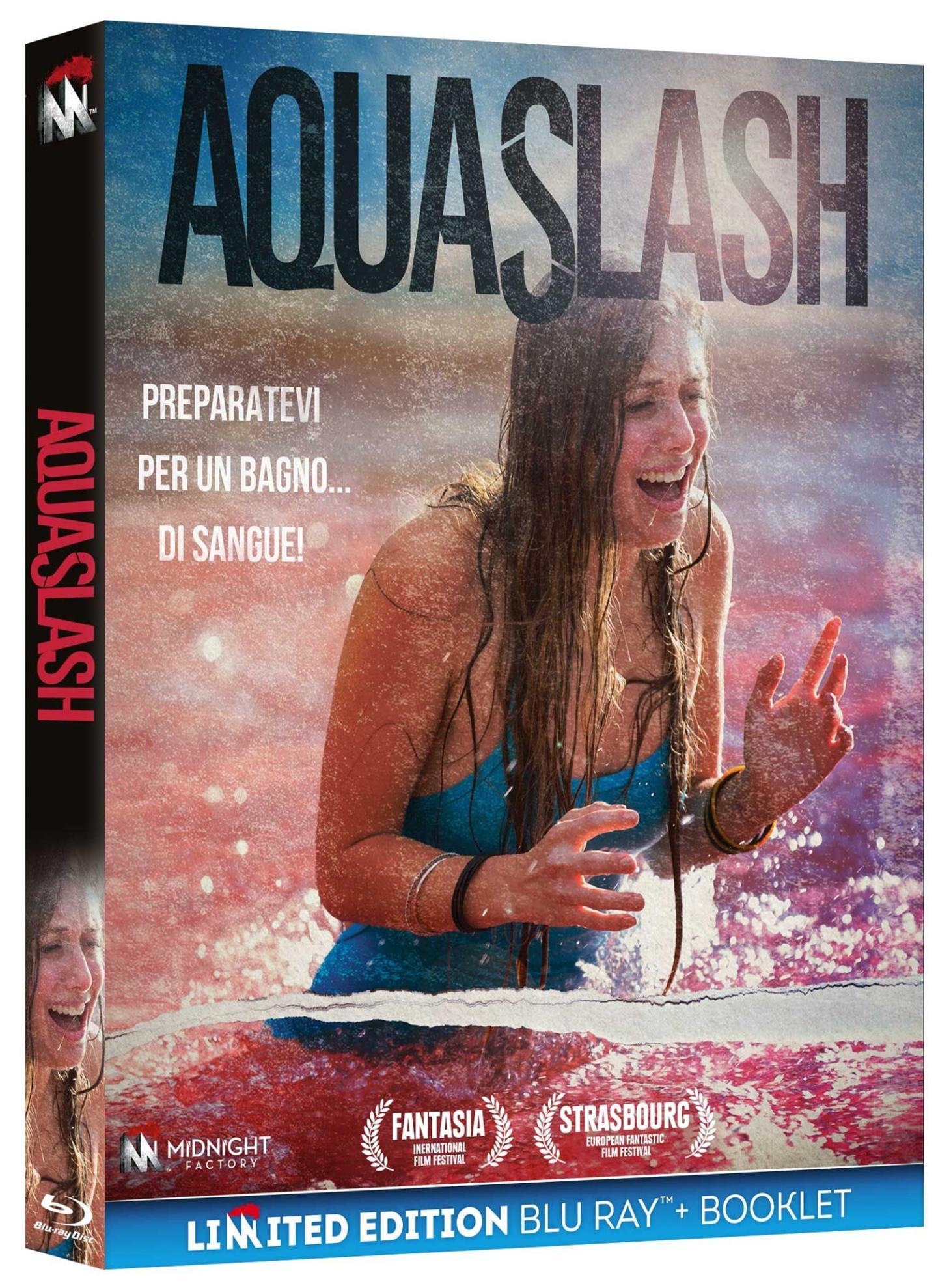 AQUASLASH (BLU-RAY+BOOKLET)
