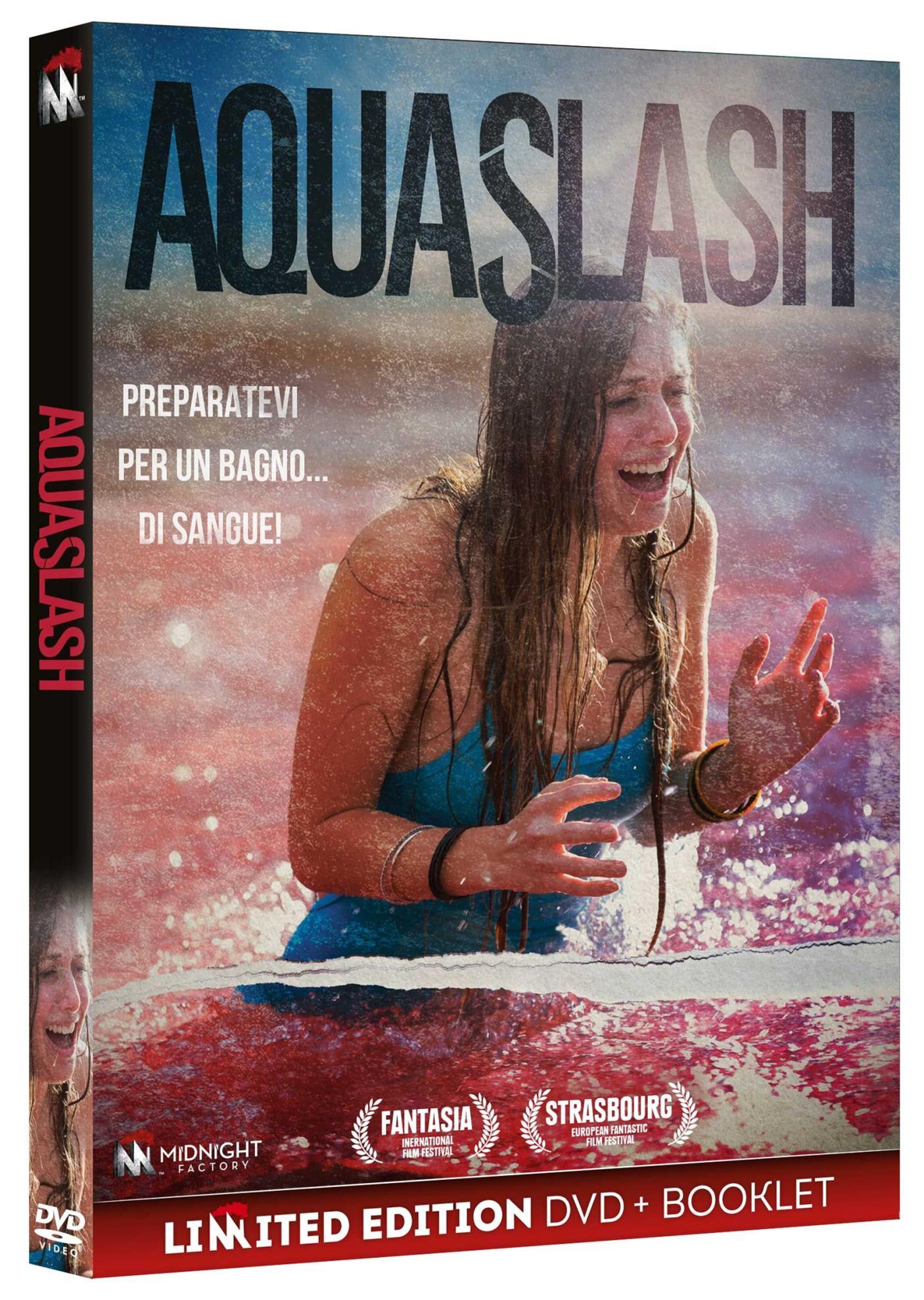 AQUASLASH (DVD+BOOKLET) (DVD)