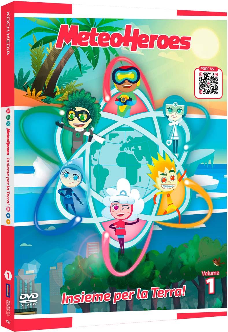 METEOHEROES #01 (DVD)