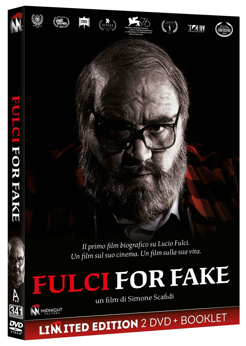 FULCI FOR FAKE (2 DVD+BOOKLET) (DVD)