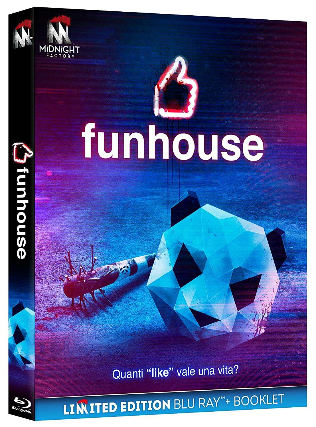 FUNHOUSE (EDIZIONE LIMITATA BLU-RAY+BOOKLET)