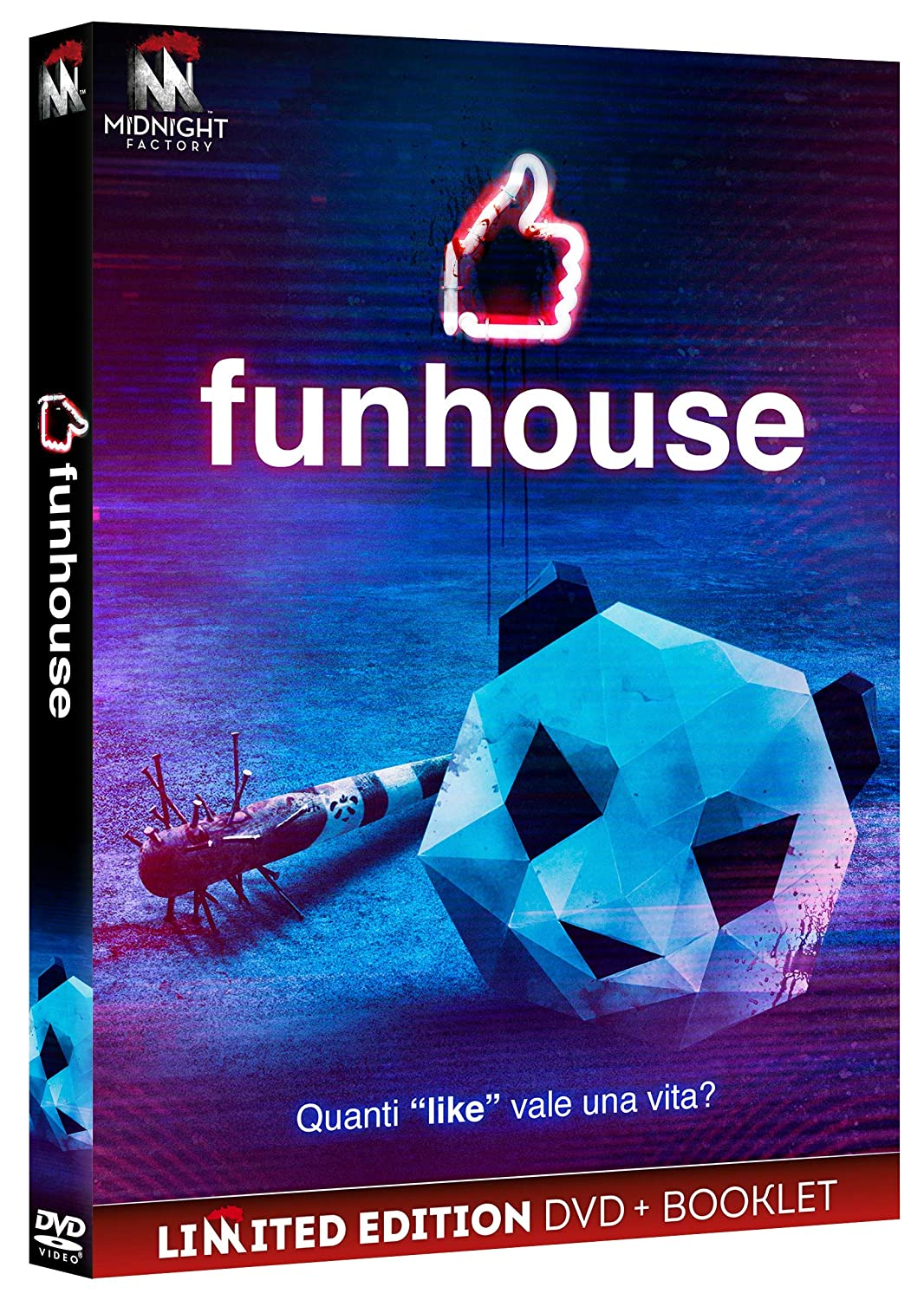 FUNHOUSE (EDIZIONE LIMITATA DVD+BOOKLET) (DVD)