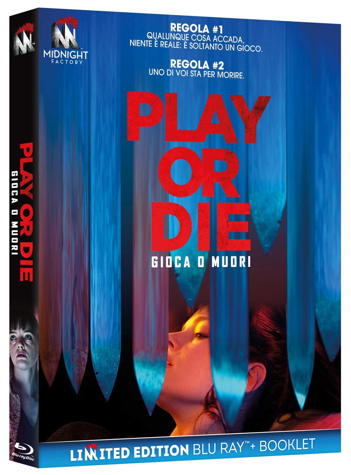 PLAY OR DIE (BLU-RAY+BOOKLET)