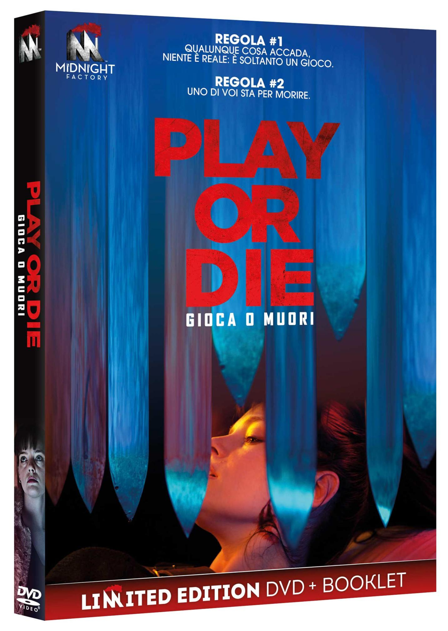 PLAY OR DIE (DVD+BOOKLET) (DVD)