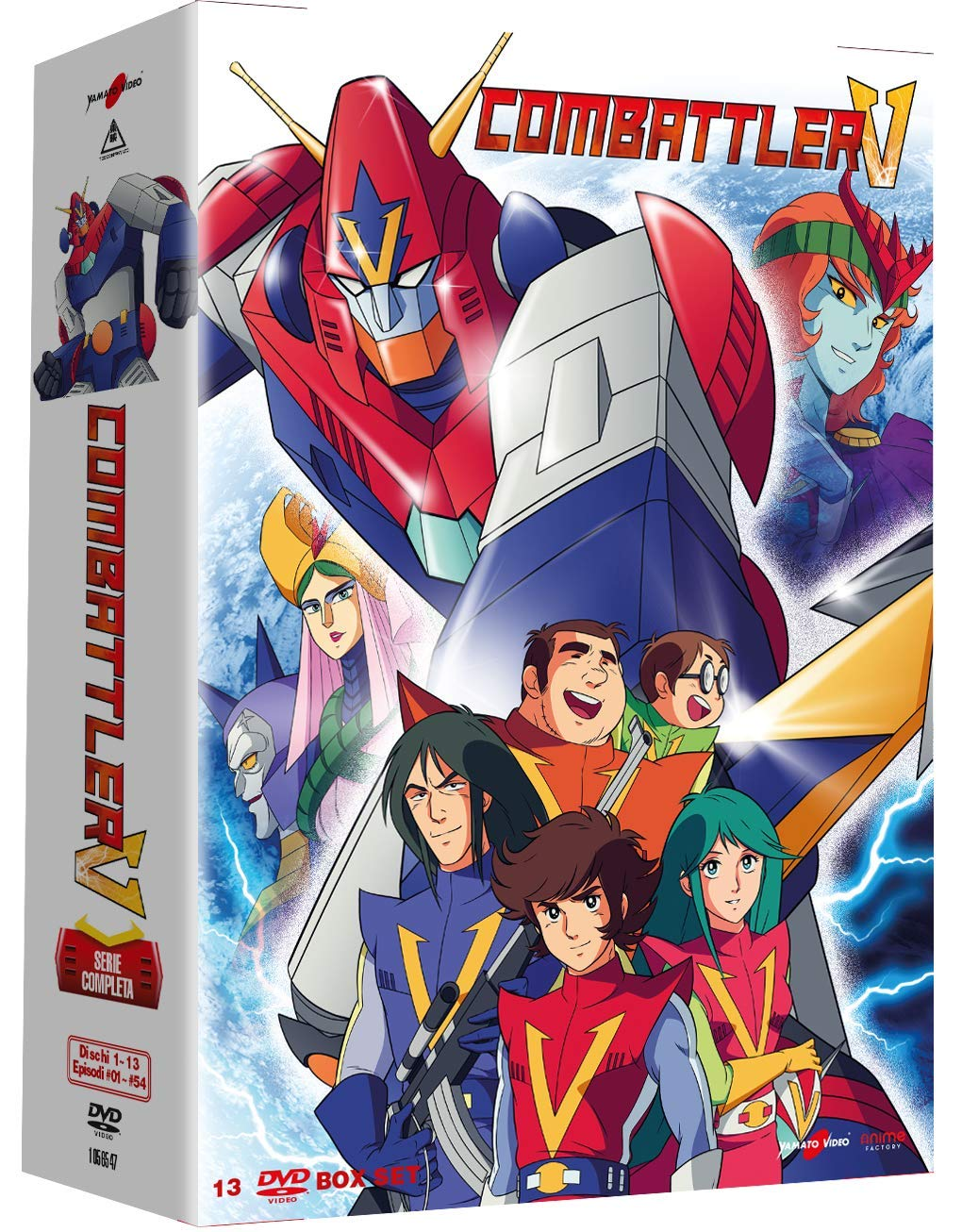 COF.COMBATTLER V (13 DVD) (DVD)
