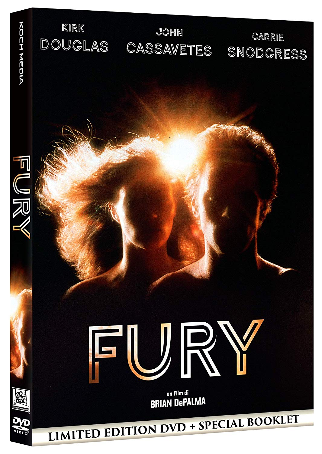 FURY (DVD + BOOKLET) (LIMITED EDITION) (DVD)