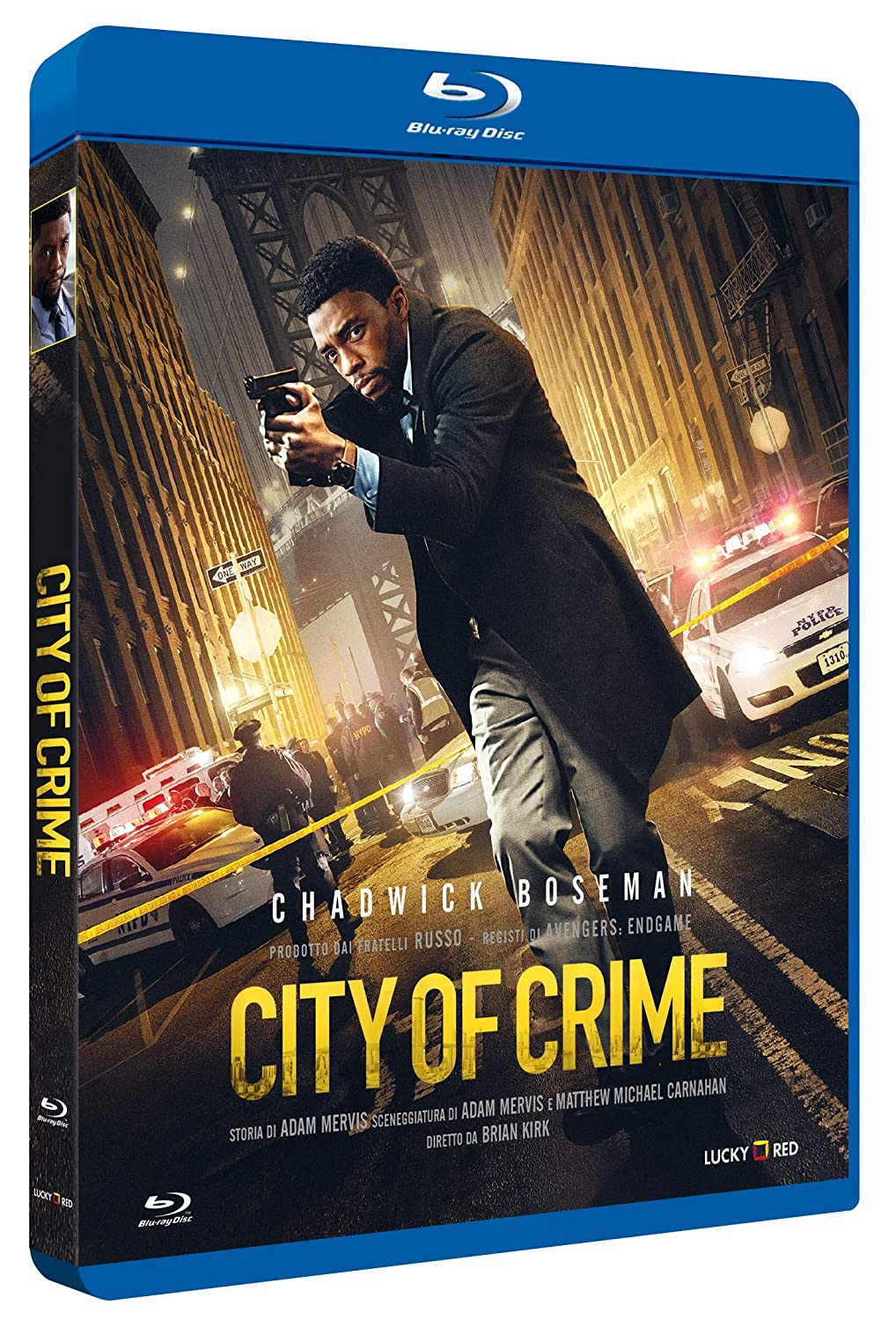 CITY OF CRIME - BLU RAY