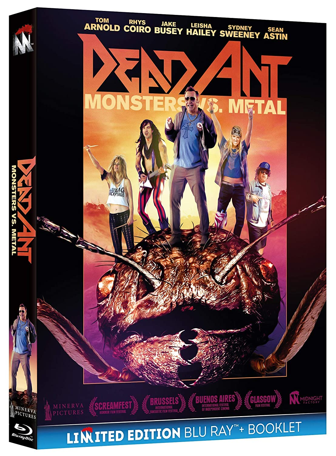 DEAD ANT - MONSTERS VS. METAL (BLU-RAY+BOOKLET)