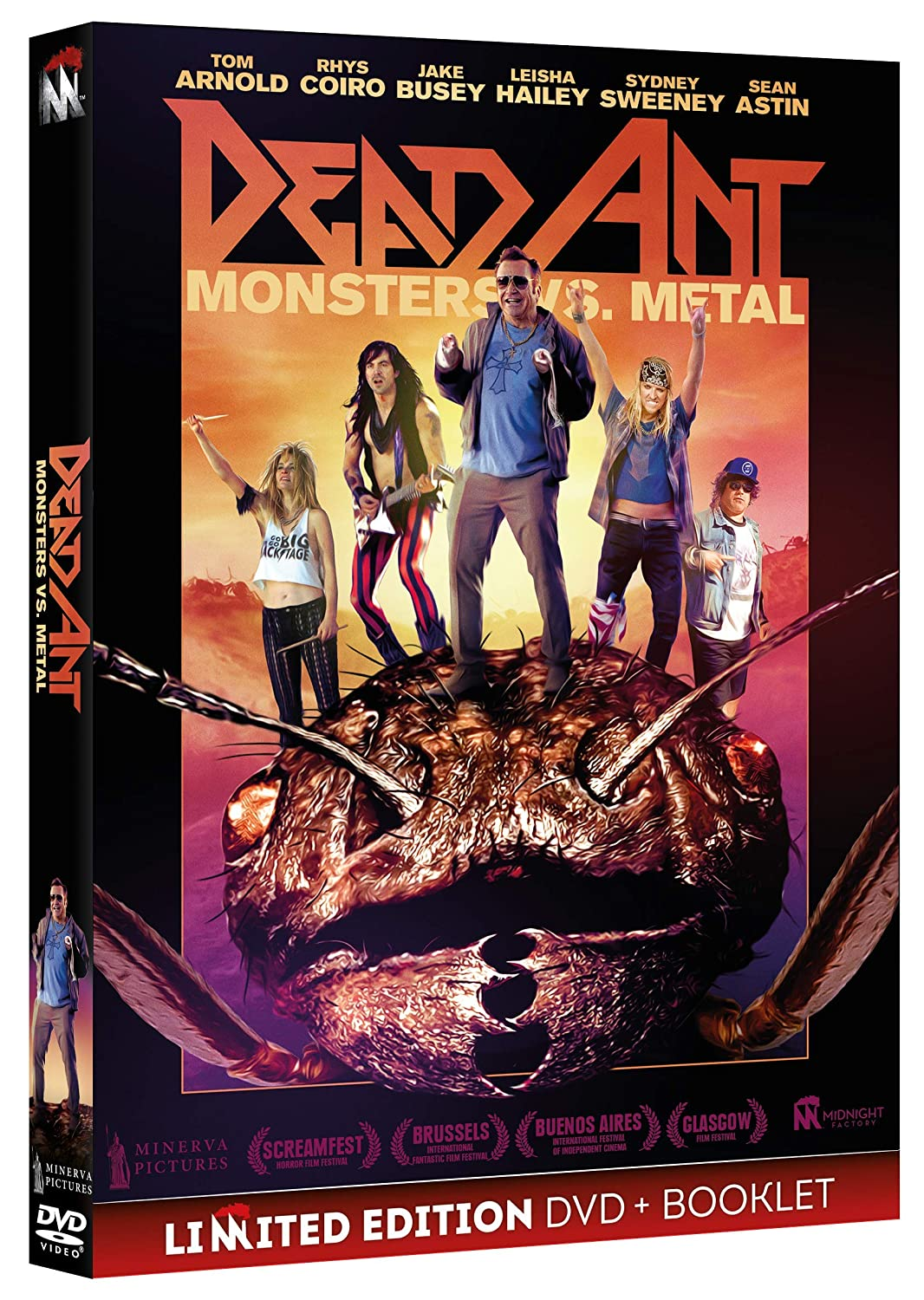 DEAD ANT - MONSTERS VS. METAL (DVD+BOOKLET) (DVD)