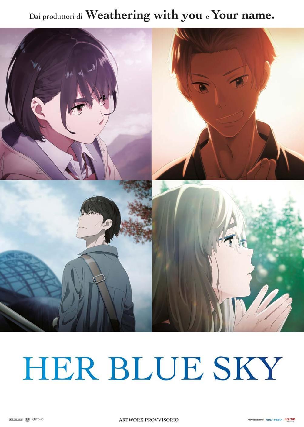 A TE CHE CONOSCI L'AZZURRO DEL CIELO - HER BLUE SKY (DVD)
