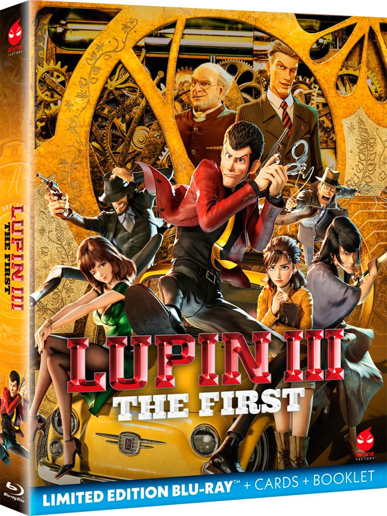 LUPIN III - THE FIRST (LIMITED EDITION) - BLU RAY