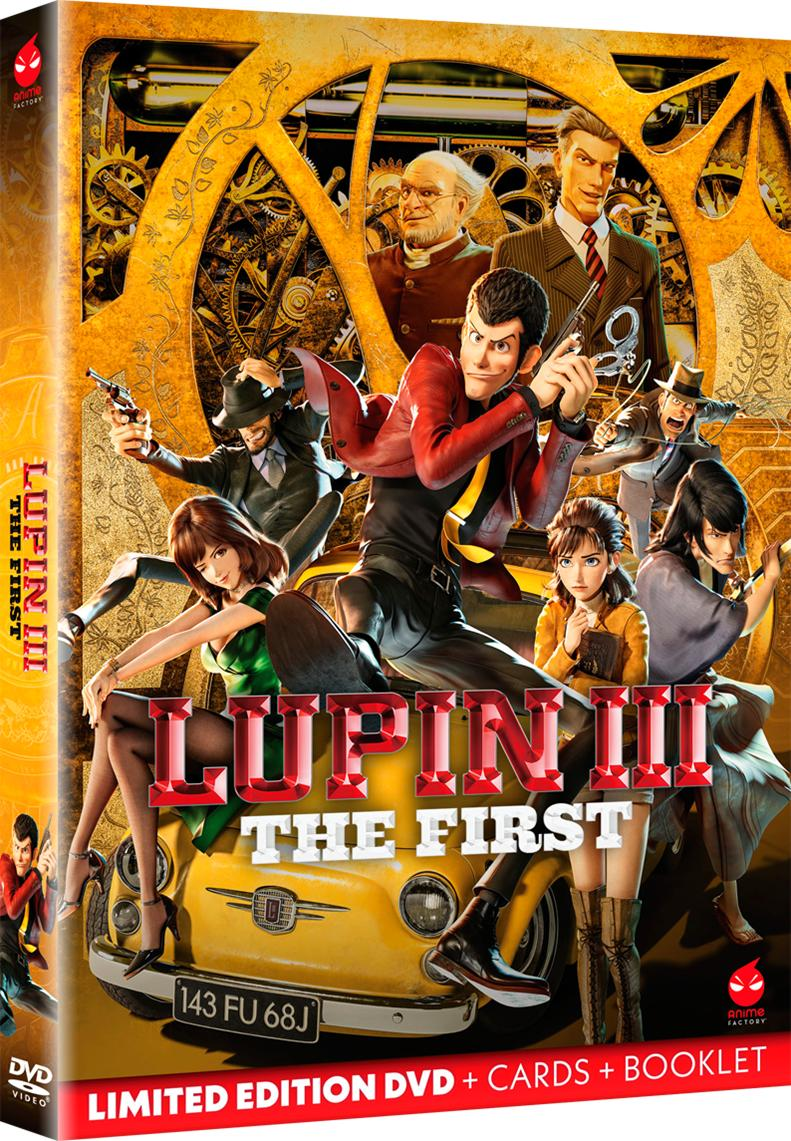 LUPIN III - THE FIRST (LIMITED EDITION) (DVD)