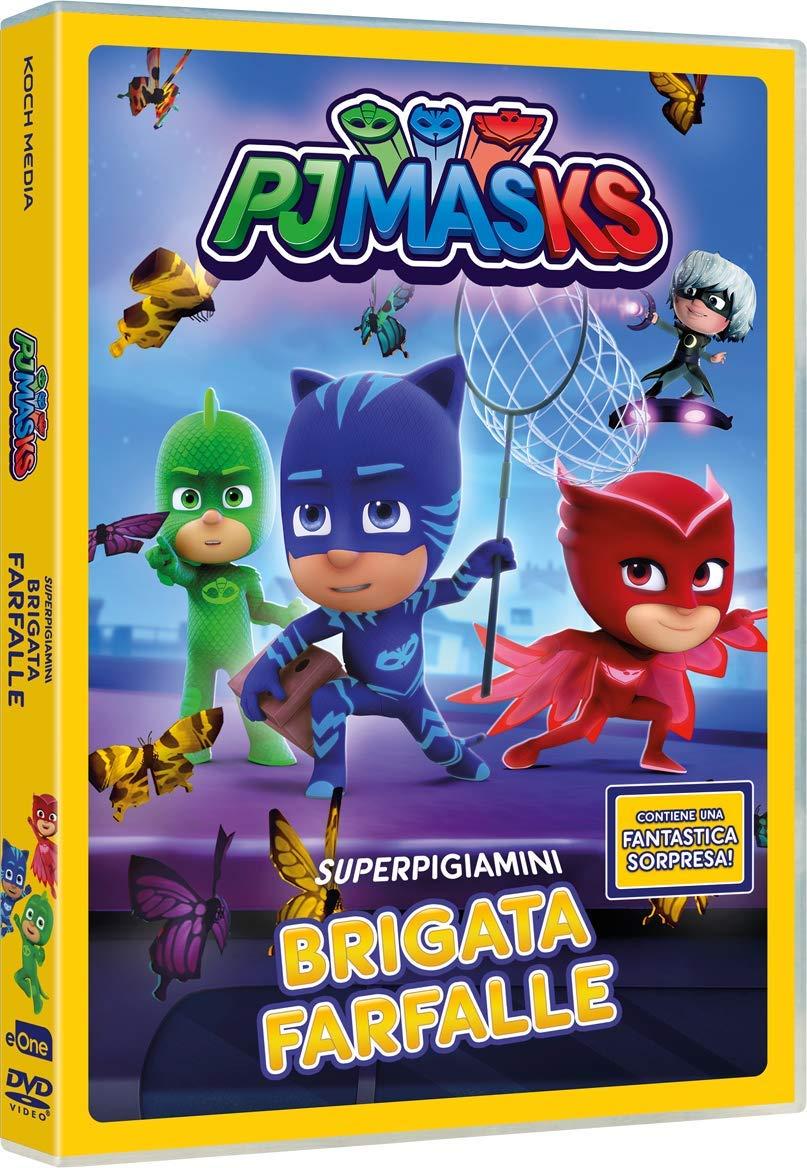 PJ MASKS - BRIGATA FARFALLE (DVD)