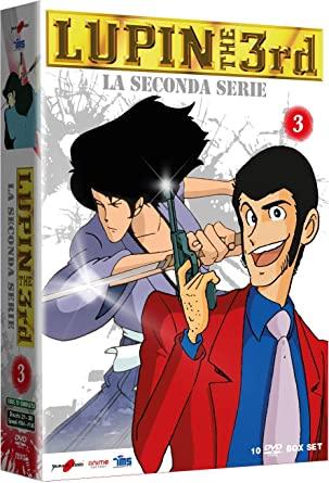 COF.LUPIN III - LA SECONDA SERIE #03 (10 DVD) (DVD)