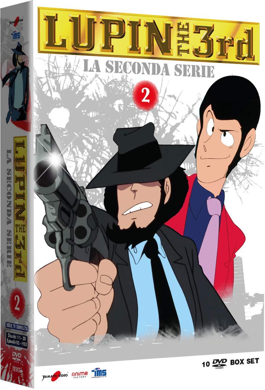 COF.LUPIN III - LA SECONDA SERIE #02 (10 DVD) (DVD)