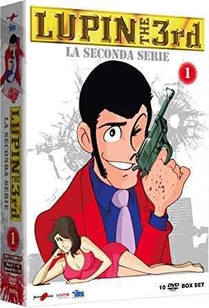COF.LUPIN III - LA SECONDA SERIE #01 (10 DVD) (DVD)