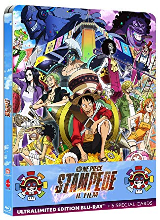 ONE PIECE STAMPEDE - IL FILM STEELBOOK (COLLECTORS EDITION) BLU
