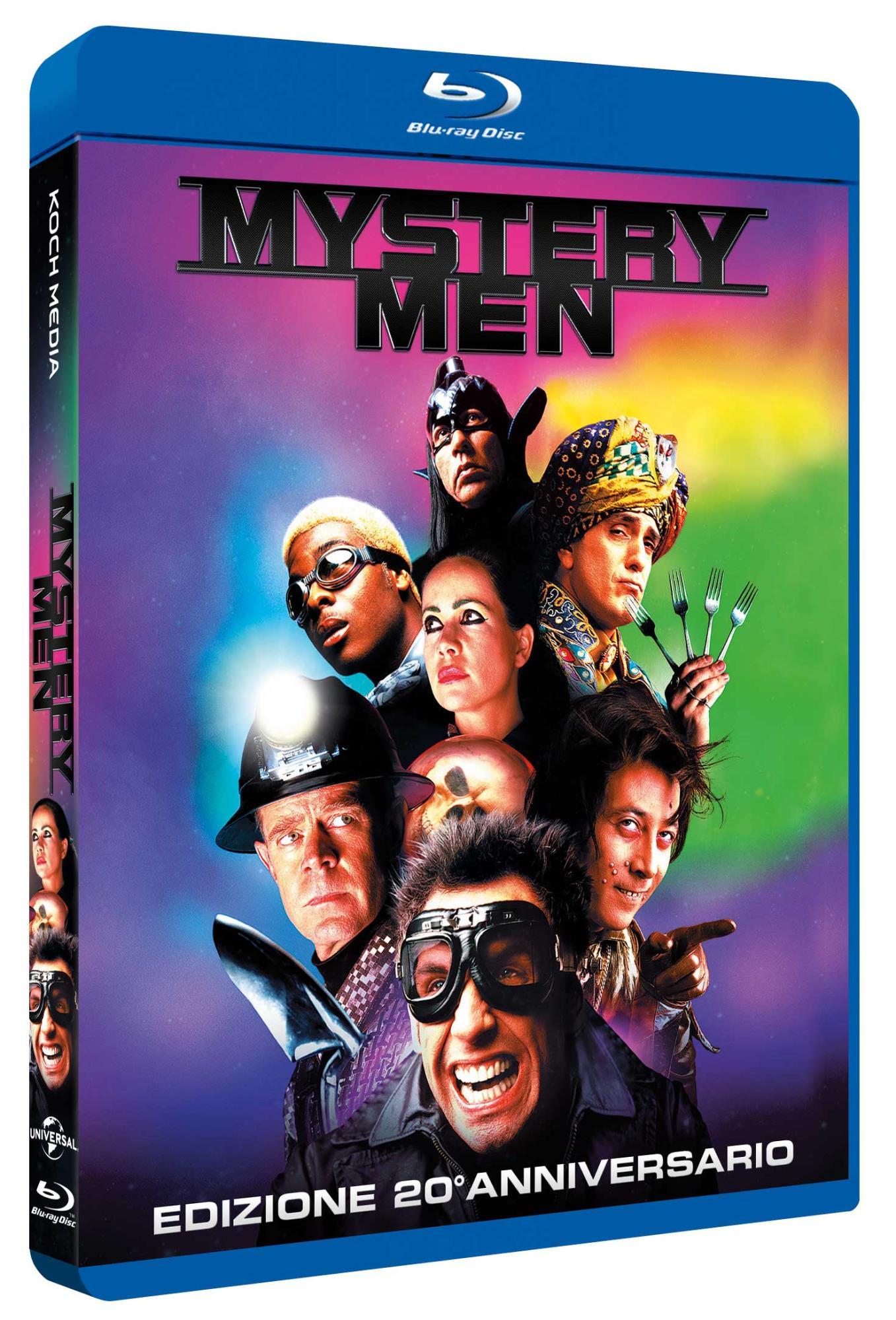 MYSTERY MEN - BLU RAY