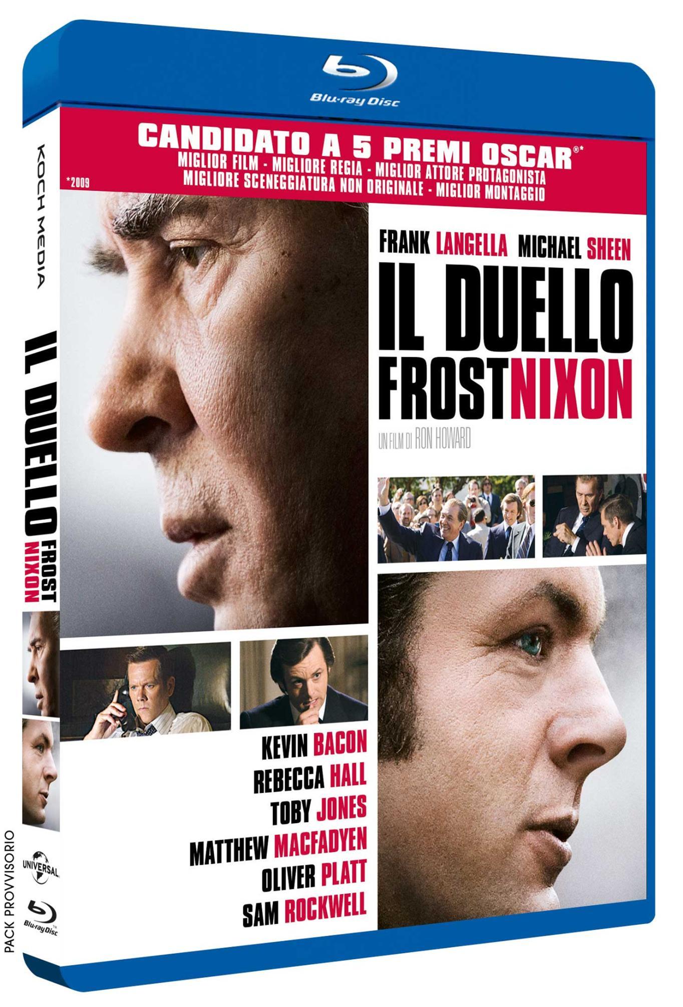 FROST / NIXON - IL DUELLO - BLU RAY