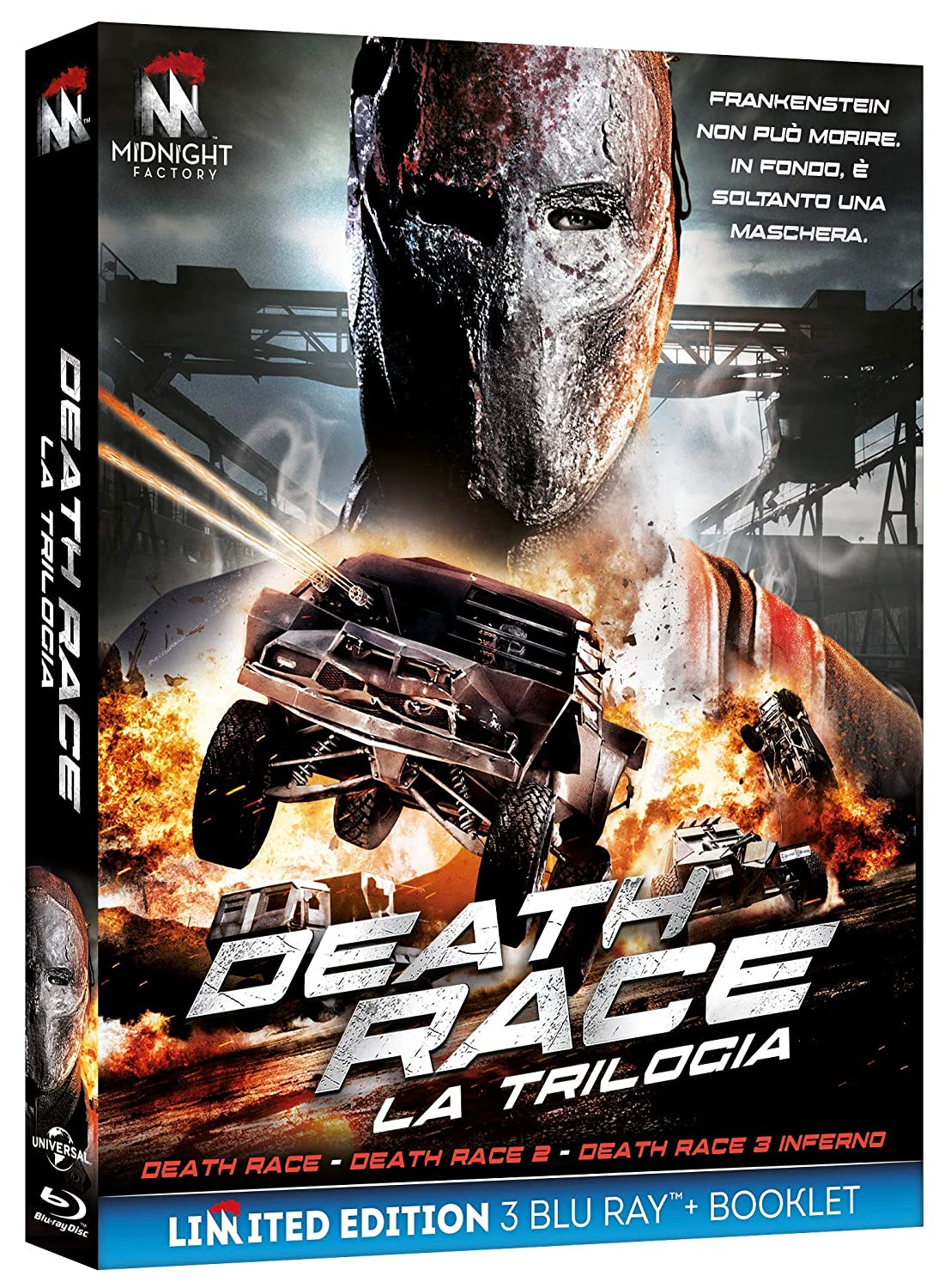 COF.DEATH RACE COLLECTION (3 BLU RAY)