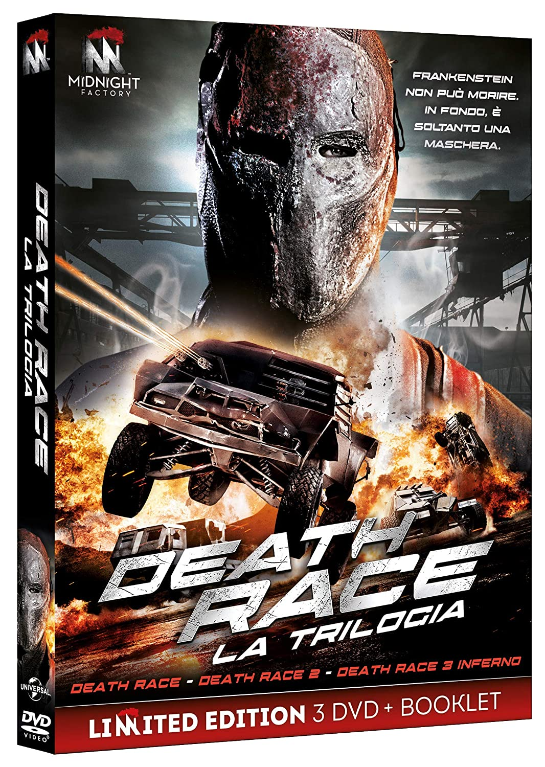 COF.DEATH RACE COLLECTION (3 DVD) (DVD)