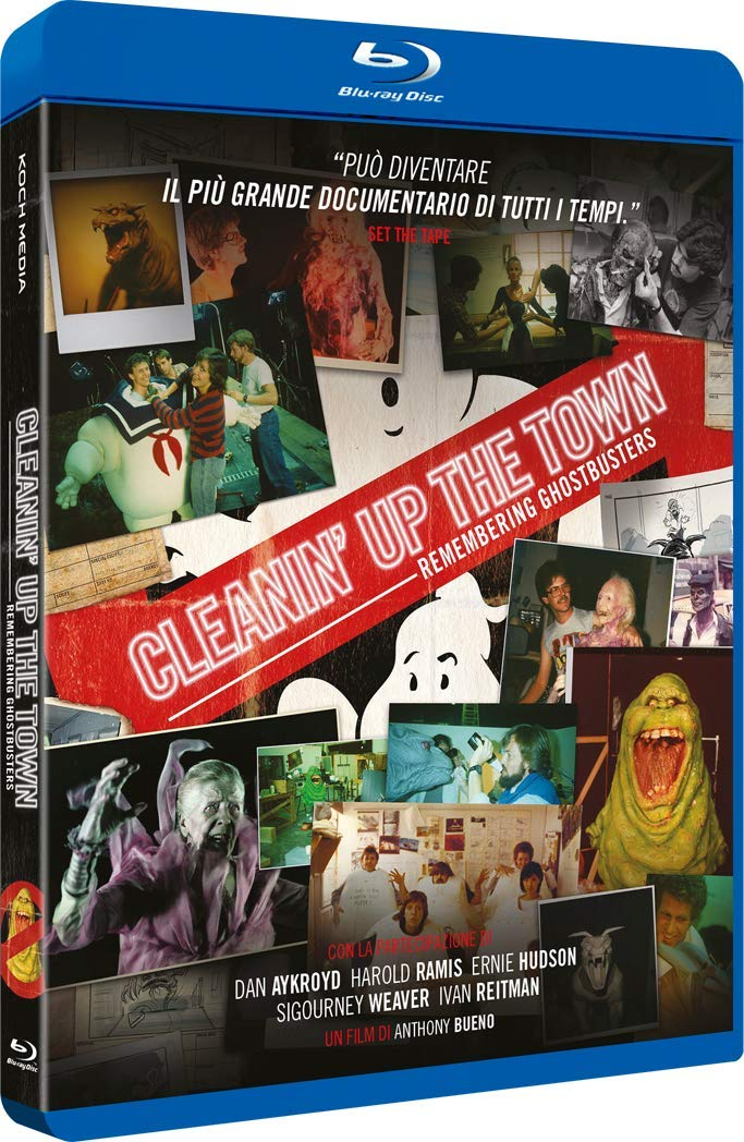 CLEANIN' UP THE TOWN: REMEMBERING GHOSTBUSTERS - BLU RAY