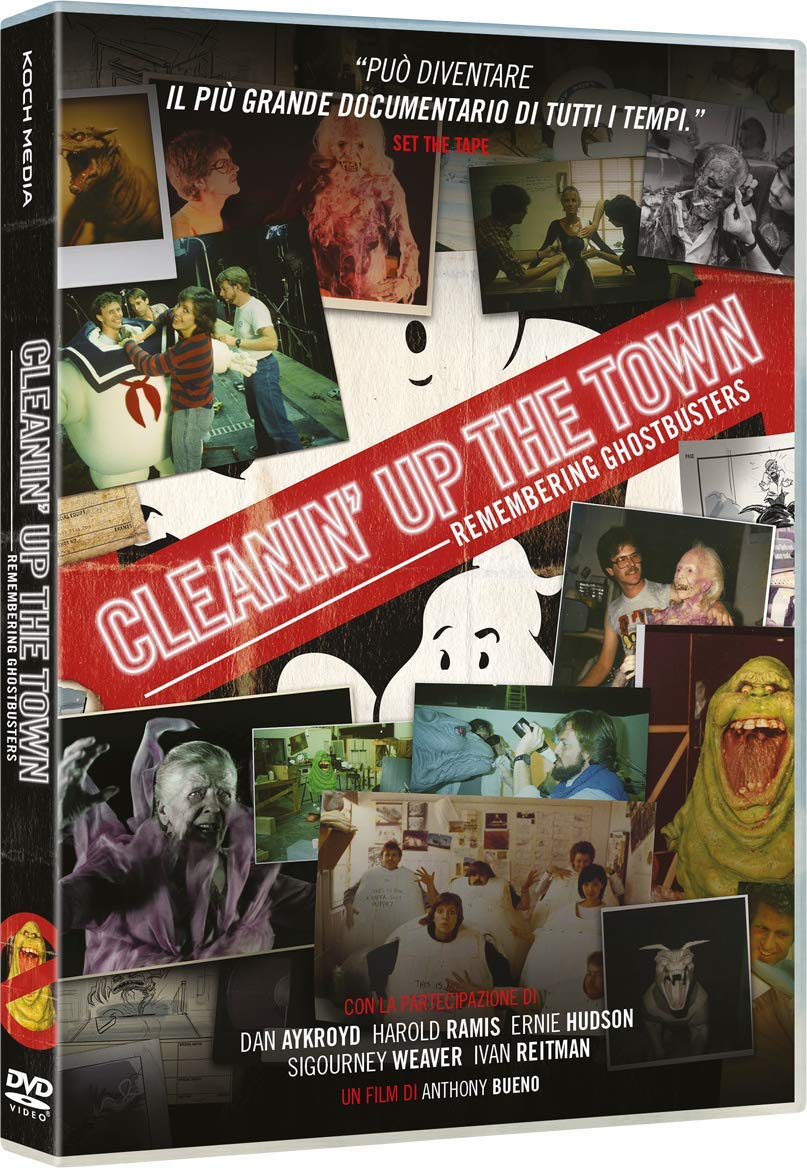 CLEANIN' UP THE TOWN: REMEMBERING GHOSTBUSTERS (DVD)