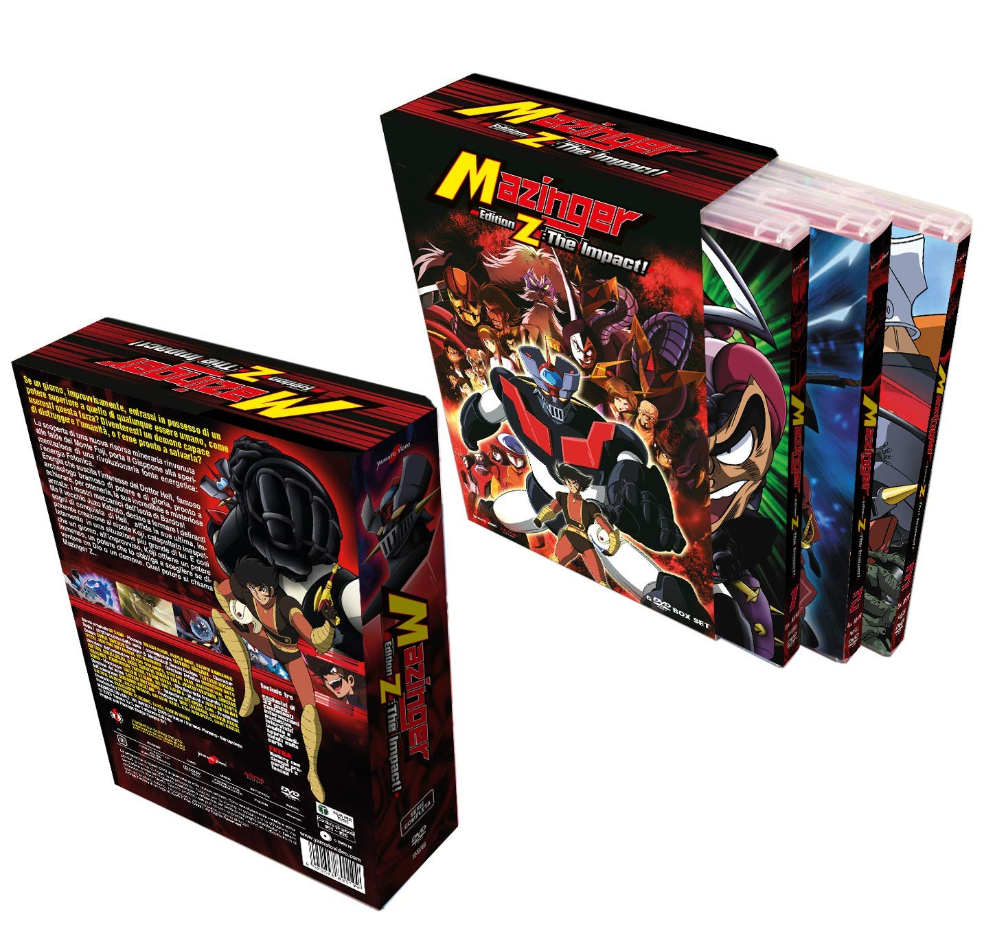 COF.MAZINGER EDITION Z - THE IMPACT! (6 DVD) (DVD)