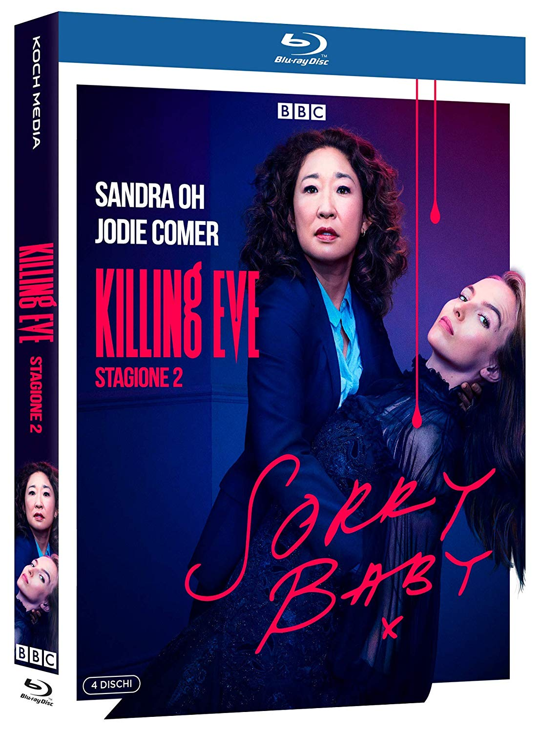 COF.KILLING EVE - STAGIONE 2 (4 BLU-RAY)