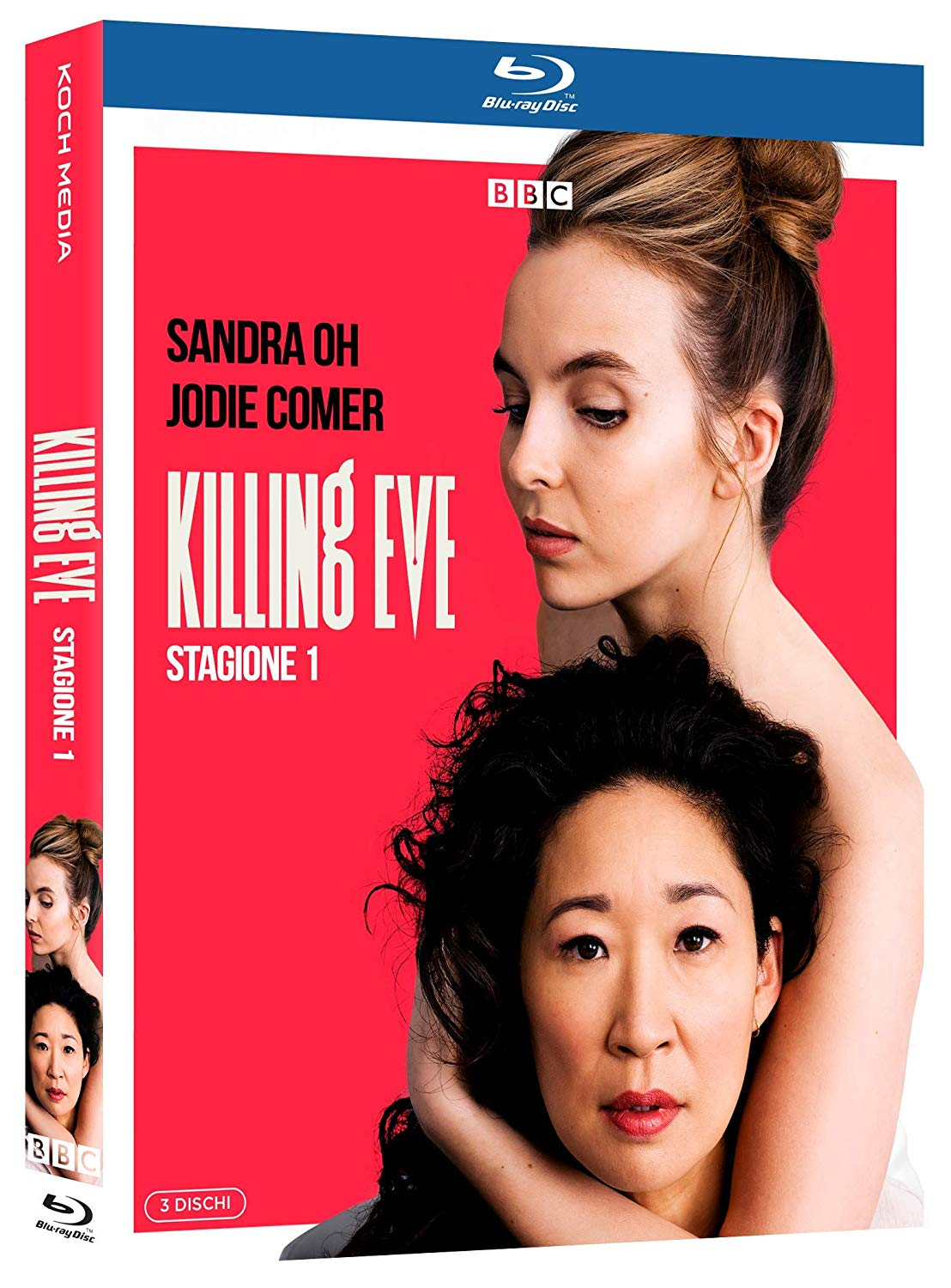 COF.KILLING EVE - STAGIONE 1 (3 BLU-RAY)
