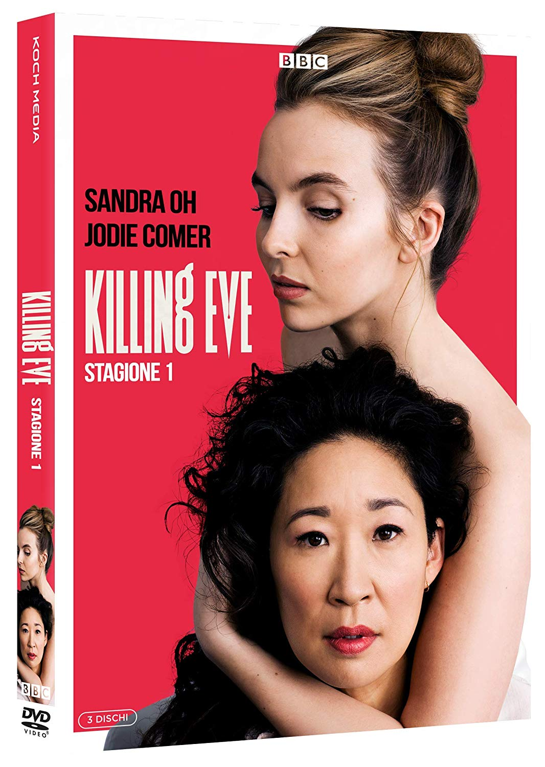 COF.KILLING EVE - STAGIONE 1 (3 DVD) (DVD)