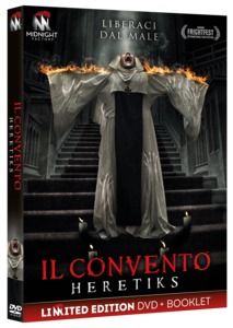 IL CONVENTO - HERETIKS (DVD+BOOKLET) (DVD)