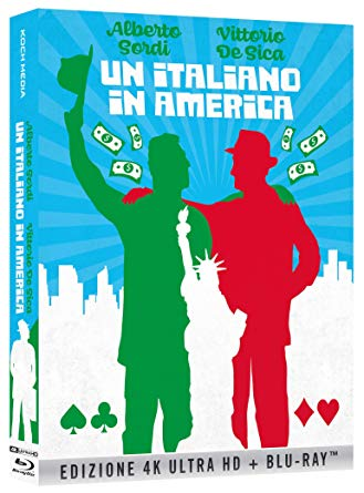 COF.UN ITALIANO IN AMERICA (BLU-RAY 4K ULTRA HD+BLU-RAY)