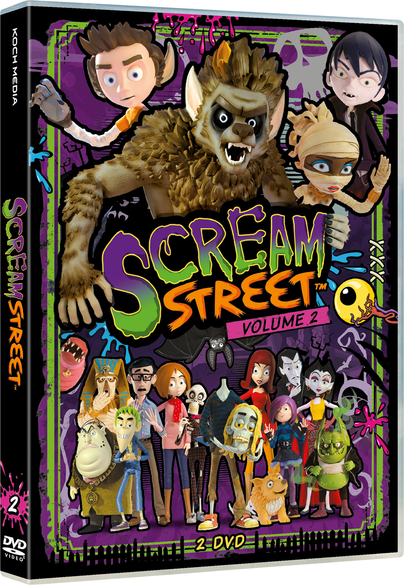 COF.SCREAM STREET #02 (2 DVD) (DVD)