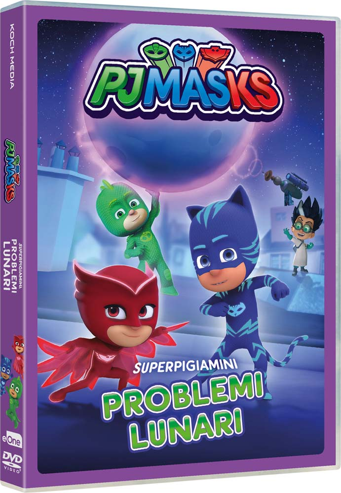 PJ MASKS - PROBLEMI LUNARI (DVD)