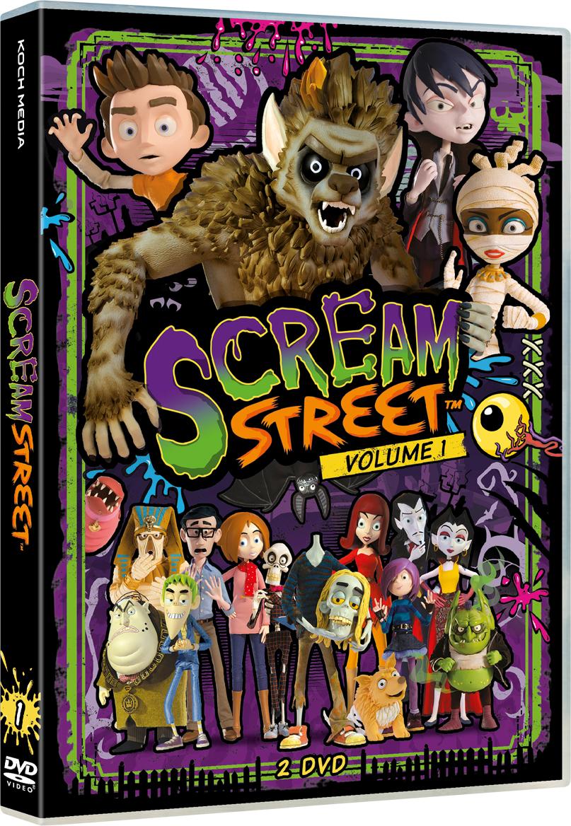 COF.SCREAM STREET #01 (2 DVD) (DVD)