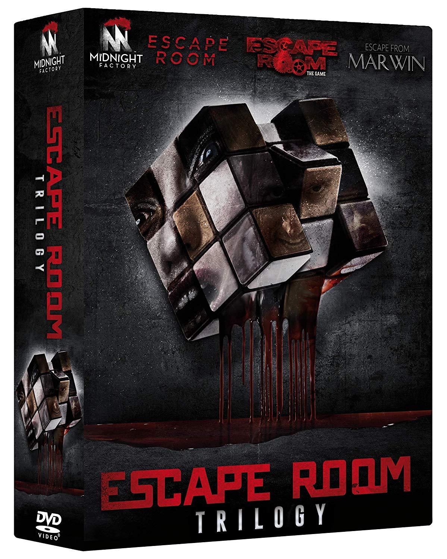 COF.ESCAPE ROOM TRILOGY (3 DVD) (DVD)