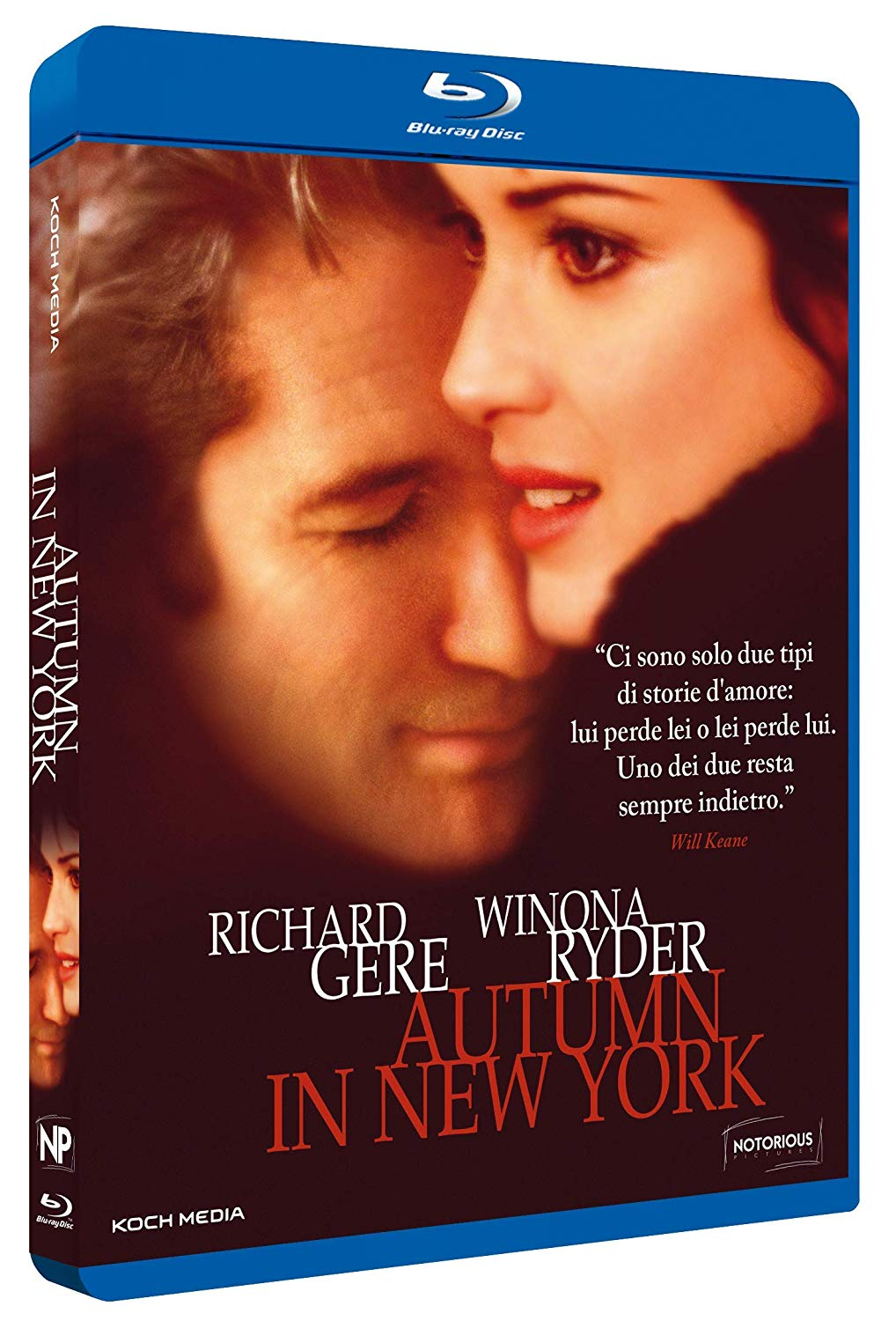 AUTUMN IN NEW YORK - BLU RAY