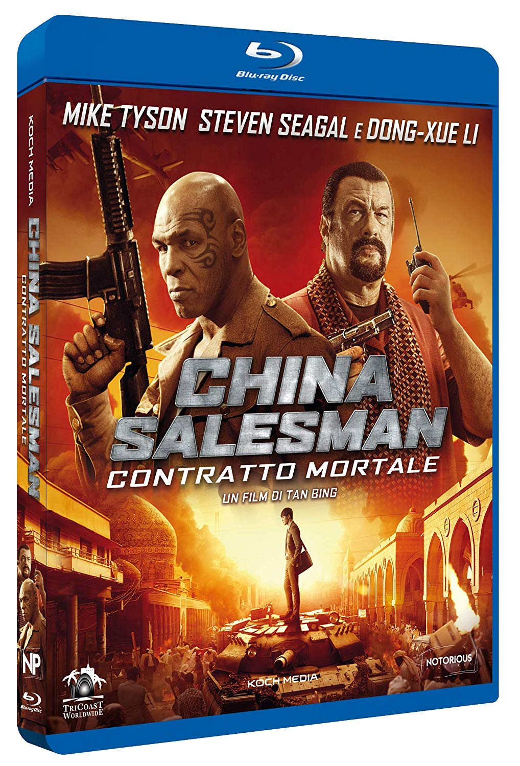 CHINA SALESMAN - CONTRATTO MORTALE - BLU RAY