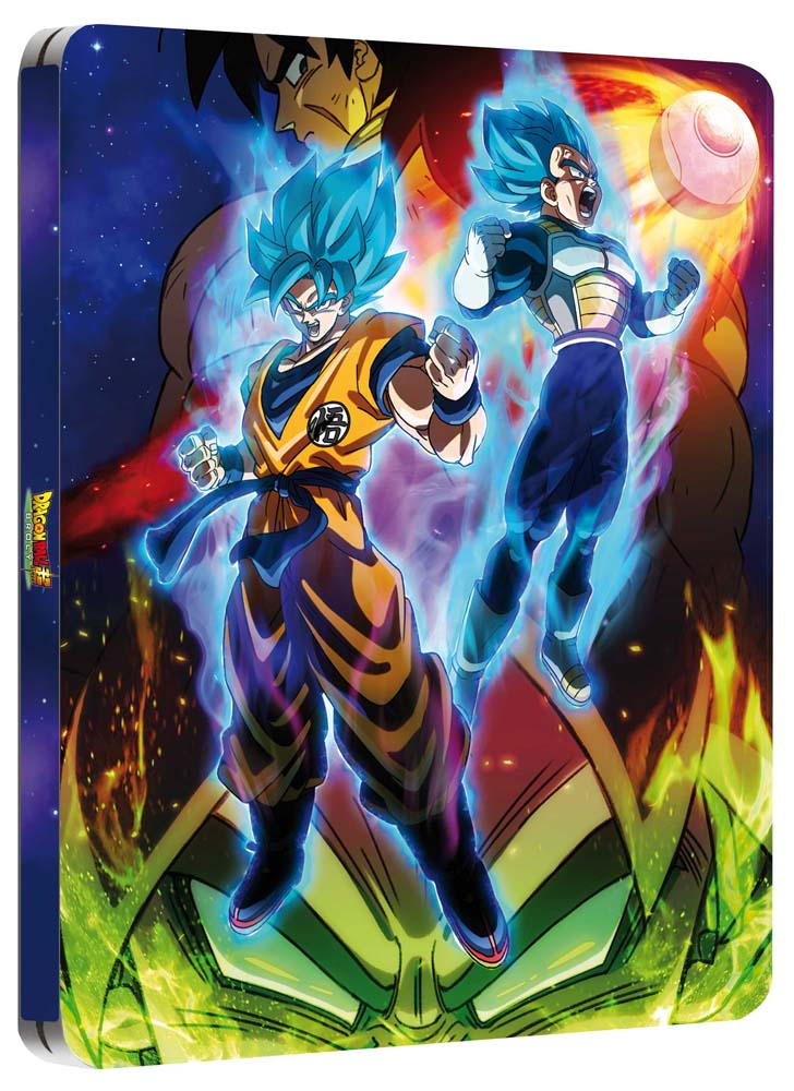 DRAGON BALL SUPER - BROLY (STEELBOOK) BLU RAY