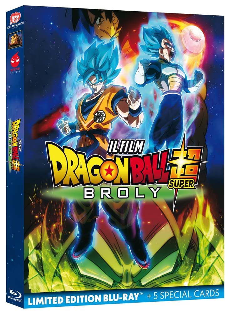 DRAGON BALL SUPER - BROLY - BLU RAY
