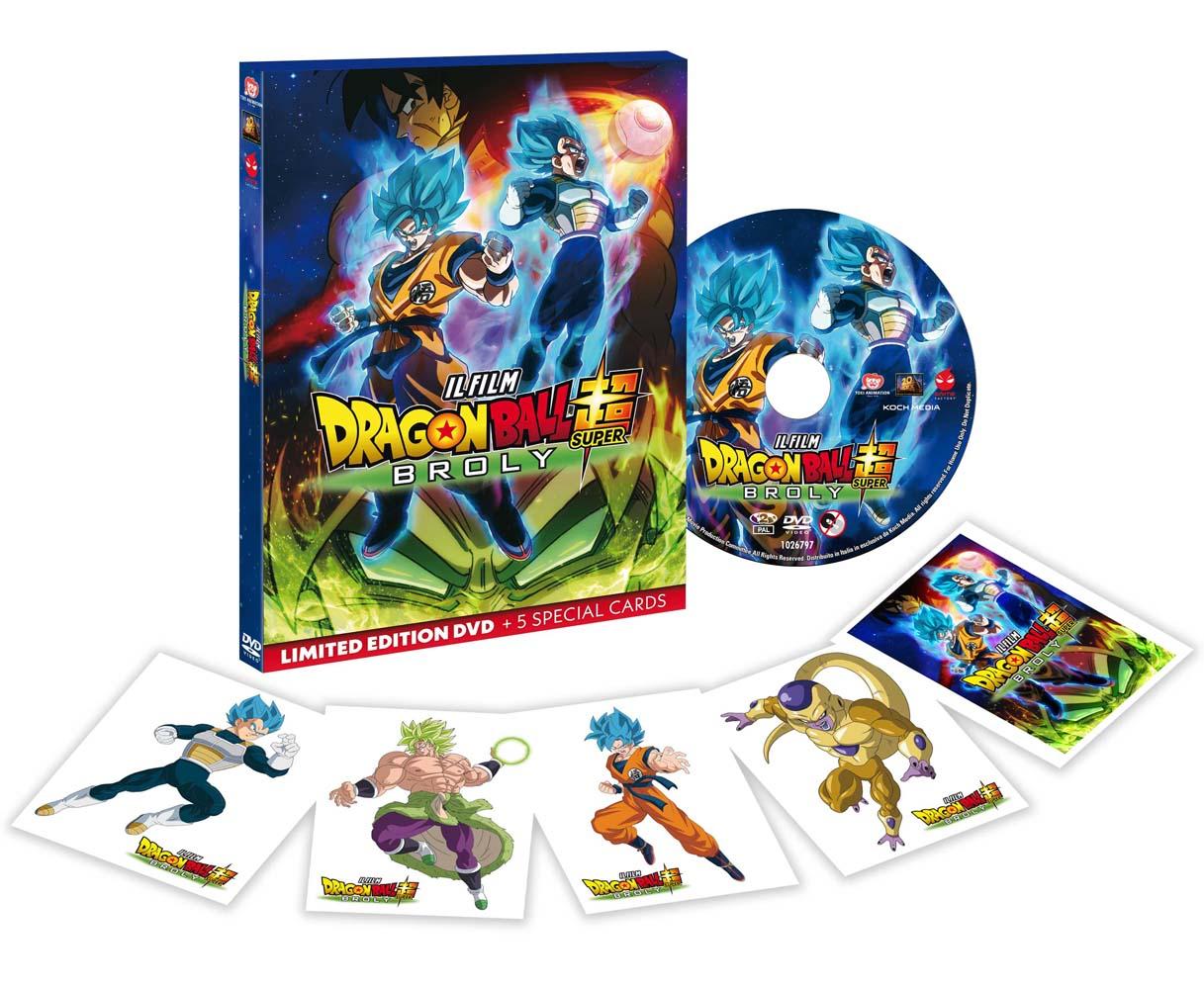 DRAGON BALL SUPER - BROLY (DVD)