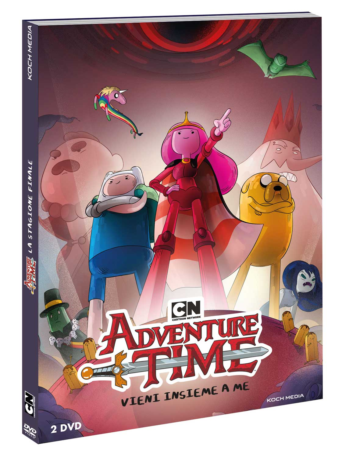 COF.ADVENTURE TIME (2 DVD) (DVD)