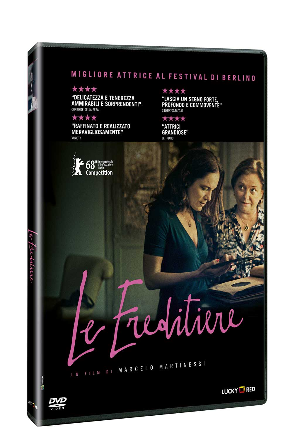 LE EREDITIERE (DVD)