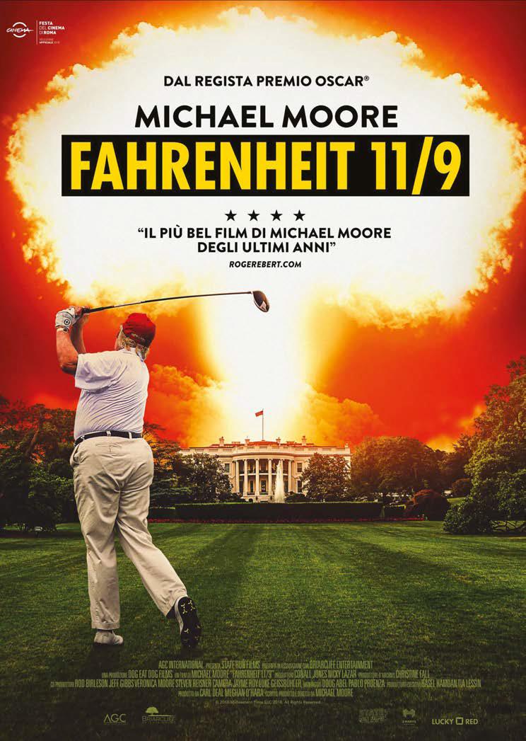 FAHRENHEIT 11/9 - BLU RAY
